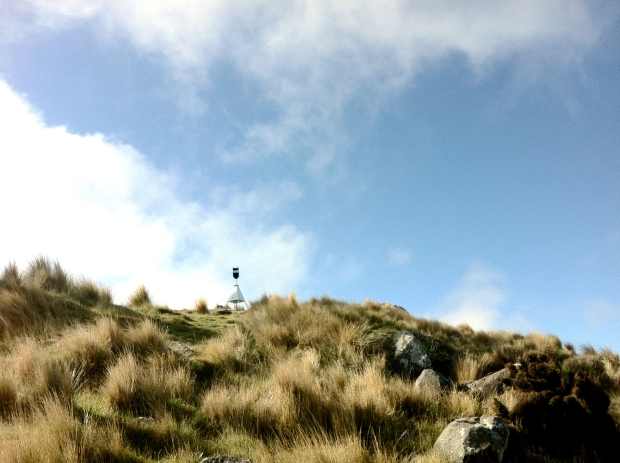 The trig at the top of Sugarloaf