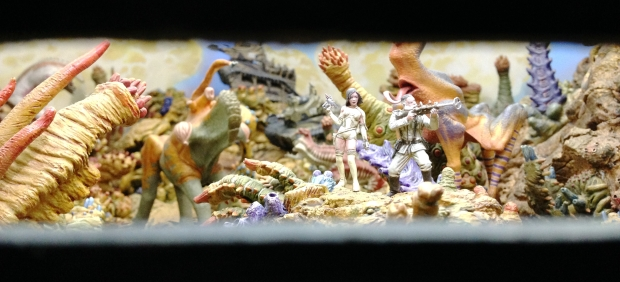 Diorama in the Venusian vista chamber