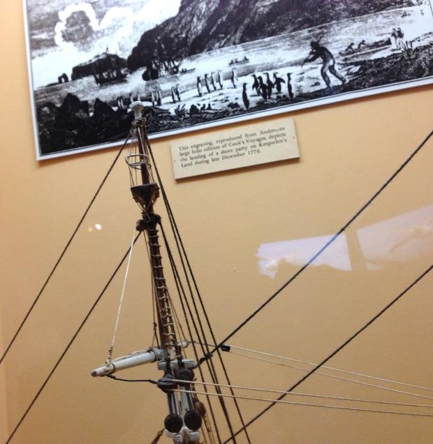 Whaling ship mast