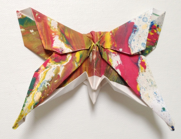 Butterfly. Design: Michael LaFosse