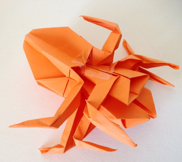 Spider (2 pieces of paper)