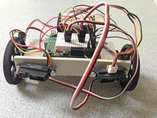 Robot from the front
