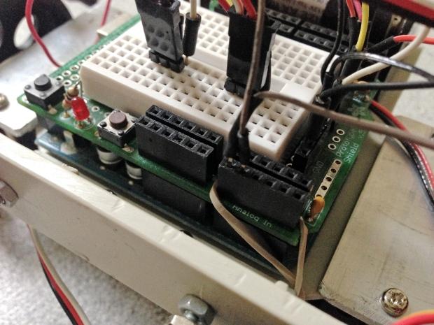 Detail of wiring